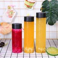 400 мл Net Red Cold Bubble Palm Одноразовый ПЭТ Пластиковый Пластиковый Прозрачный Молоко Чашка Чашка Сока Бутылка питья