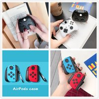 3D Cute Game Console Box Switch Pro GamePads Наушники Шкафы мягкие силиконовые крышки капля падают от защиты для Apple Airpods 1 2 PRO