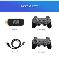 Video Game Consoles 4K HD 2.4G Wireless 821 Games Retro Mini Classic Gaming Gamepads TV Family Controller For PS1 GBA MD
