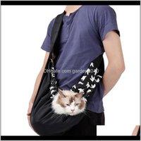 자동차 시트 커버 inbepet 애완 동물 캐리어 야외 여행 개 고양이 핸드백 운반 가방 유모차 슬링 작은 D 0IFLP에 대 한 조정 가능한 어깨 끈으로 슬링