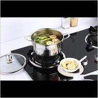 Cuisine de cuisine à manger, bar à manger Home Garden Drop Livraison 2021 1000ml Acier inoxydable Cuisine Cassif Casserole Four néerlandais pour induction
