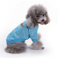 الكلب ملابس الحيوانات الأليفة الكلاب بالجملة فاخرة صيف مصمم كبير القماش ستوكات تنظيف الربيع الصانع الأزياء مطابقة الملابس