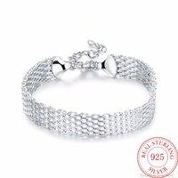 Brazalete de brazalete de lujo diseñador de lujo925 plata de ley pulseras afortunado pulsera brazalete cadena brazalete mujer damas niñas joyería regalo silber pulsiras