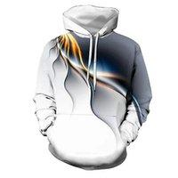 Men's Women's 3d Graphic Hoodies Fashion Rainbow Pattern Hoodie Unisex Couple Outfit Classic Hiphop Printing Sweatshirt Boys Streetwear