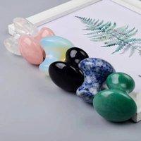 Jade Mushroom Guasha utensile massaggiatore facciale massaggiatore naturale cristallo rosa quarzo gua raschietto faccia raschietto viso mento anti rughe agopuntura curativa sanitaria