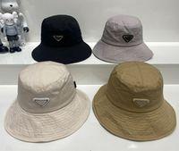 Fashion Bucket chapeau casquette de basketball pour homme Femme Street Ball Caps Casquette Hats 4 Couleur avec lettre Très qualité