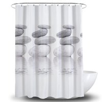 Shade Swimwear Waterproof Shower Curtain 3d Po Print Curtains Elegant Rideau De Douche BA60YL