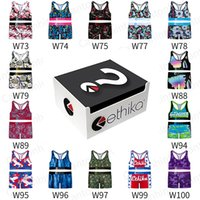 Ethika Women's Tracksuits 2021 New 3 XL Plus Size Women Girl Ethica Sets Bra and Short 2pc Jogger Woman Pant Two Pieces Clothe