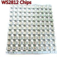 WS2812 LED-chips med svart / vit PCB-kylfläns (10mm * 3mm) WS2811 IC Inbyggd SMD RGB DC5V 5 ~ 1000 stips