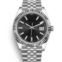 U1 ST9 luxury watch Black Dial 41mm 126333 126331 126334 Automatic Mechianical Wristwatches Jubilee Strap Sapphire 2813 126301 Datejust Movement Mens Watches