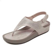 Mcckle mulher retro sandálias mulheres flip flops fêmea gancho loop thong praia sapatos casuais apartamento senhoras costura fora verão 210608 b3lw