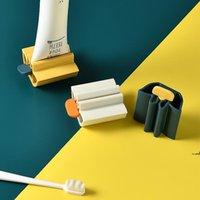 NewMulti-Função Dental Pasta Esprema Facial Cleanser Squee Manual Dentável Creme Dentável Clipe Limpeza Suprimentos DentalPasta Companion Squeezer Tool EWF76