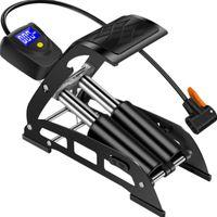 Надувной насос Портативный высоковольтный алюминиевый сплав мини-электрический автомобиль мотоцикл дома педаль цифровой дисплей воздушный велосипед с помощью digi