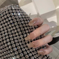 False Nails 24pcs Artificial Fake For Design Fashion Lady Short Full Cover Salon Tip Manicure Fingernails