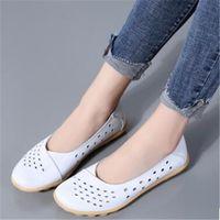 2021 Дудудудун женская обувь беременных плюс размер матери повседневная плоская обувь кожаный удобный прочный большой EU35-44