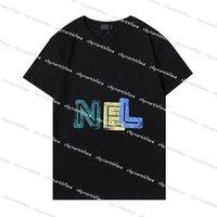 Ropa para hombre Moda para mujer Diseñador Tshirt Summer Mens Polo Shirt Letra Impresa T Shirts Mujeres Ropa de Lujo Top Ves Streetwear 2021