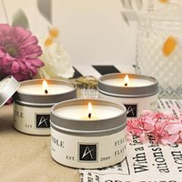 #50 Smoke Free Romantic Scented Candles Air Purification Natural Soy Candlelight Dinner Wedding Props Decorative