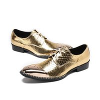 Dress Shoes High-end Private Customized Hair Stylist Silver Stage Leather Gold Casual Fashion Men's Hairdresser Trendy