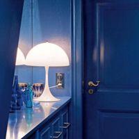 Table Lamps Mushroom Desk Lamp Minimalist Cottagecore Bedroom Bedside Creative Decor Office Book Study Reading Lighting Fixtures