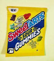 Özelleştirilmiş Sweetarts ekşi gummies yeniles mylar paketi çanta çerezleri ambalaj orijinal ceraat için yenilebilir koku geçirmez fermuar kilidi yeniden kapatılabilir kese paketlenmiş