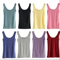 Spring Summer Tops Sleeveless Women Tank U Neck Loose T Shirt Vest Singlets Camisole Cotton Slim Female Top Vests