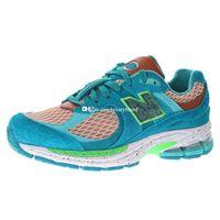 Salehe Bembury ML2002 Água Seja o Sapato de Esportes Guia para Homens Sneaker Sneakers Sneakers Mulheres Running Sapatos Treinadores Dos Homens Sport Chaussures Man Trainer em Azul
