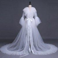 Casual Dresses Women's Sexy Elegant V-neck Lace Mesh See-through Skirt Y2K Ruffled Slit Wedding Prom Dress Underwear Nightdress