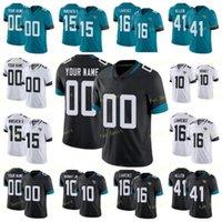 85 Tim Tebow 16 Trevor Lawrence Football Jersey 15 Allen Robinson II 1 Travis Etienne Jr 41 Josh Allen 30 James Robinson 2 Rayshawn Jenkins 10 Laviska Shenault Jr.