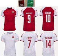 21 22 الدنمارك Soccer Jersey Schmeichel Kjaer Christensen Skov Delaney Braithwaite DBU HOME ABAY ERIKSEN DALSGAARD LASSL SIDGER Yurary Roonnow Hojbjerg