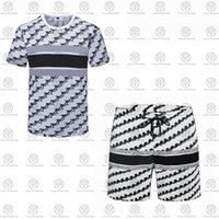 21ss Mens Plaj Tasarımcıları Eşofman Yaz Takım Elbise Moda T Gömlek Sahil Tatil Gömlek Şort Setleri Adam S Lüks Rahat Spor Kıyafetleri Spor Giyim 2021 M-3XL