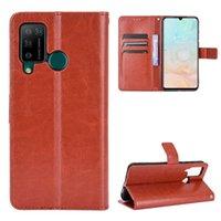 Cas de téléphone portable en cuir de style classique pour Doogee N20 Pro Premium PU Livre Porte-Porte-Porte-Porte-Pochette en stock
