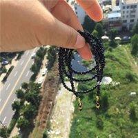 Mode Accessoires Hals Sandstein blau Hängende Gläser Alte Blume Myopie Sonnenbrille Kette Seil Männlich Net Rot Einfache Mode0mwh
