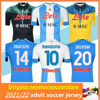 20 21 Napoli Futbol Forması 2020 2021 Napoli Koulica Camiseta De Fútbol Insigne Milik H.lozano Mertens Maillot de Futbol Gömlek