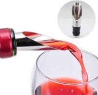 Барные инструменты Высокое качество 2 в 1 стопорные красные заливные инструмент из нержавеющей стали вина бутылка воронки бутылка для бутылки 80e9