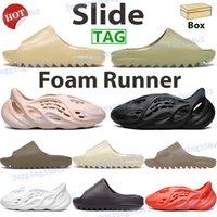 2021 hombres mujeres zapatillas zapatos zapatos desierto arena resina tierra marrón hollín espuma corredor triple negro blanco naranja núcleo para hombre sandalias US 5-11
