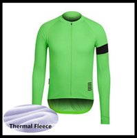 Rapha Team Cycling Fleece Mangas largas Jersey Ropa MTB Montaña Respirable Racing Desgaste Bicicleta Maillot Soft Skin Friendly 50546
