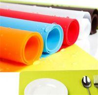12 16 polegadas silicone nonsticks moldes tabela mesa de pastelaria com vermelho azul amarelo amarelo marrom tapetes de laranja cera pads 289 v2