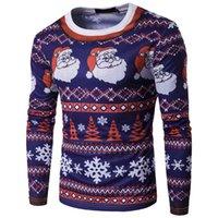 Футболка моды 3D 3D Санта-Клаус с круглым вырезом мужская одежда с длинным рукавом тонкий печать Tees Polos соответствующие леггинсы и платья