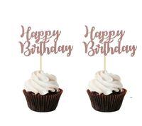 Happy 16th Birthday Cake Topper Bachelorette Accessori per feste Sposa per essere Boy o Girl Baby Doccia Decorazioni Decorazioni Decor Forniture FWB9578