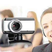 Webcams 500W Pixel USB 2.0 High Definition Webcam Clip Camera Drive-free Built-In Microphone For Computer PC Laptop Desktop