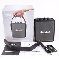 Haut de la qualité DHL Marshall Stockwell II Portable Bluetooth Haut-parleur sans fil Christmas Christmas Musique aimée à la maison à l'extérieur Drop Shopping