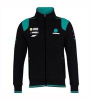 F1 Team Co-Brand Co-Brand Veste d'automne et d'hiver Logo Logo Logo Valential Ventilateur de voiture Sweat-shirt à vélo à manches longues