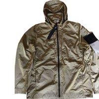 Topstoney 2020 Konng Bonng 새로운 봄과 가을 얇은 패션 브랜드 재킷 야외 캐주얼 코트가있는 후드 칼라