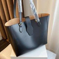 2021 Moda Bolsas de compras de gran capacidad Señoras Classic Brand Designer de lujo Temperamento de lujo Bolso de cuero Tamaño 35 * 12 * 32 cm