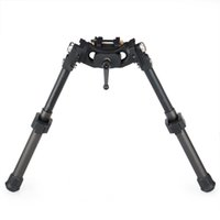 Canis Lra Lra Light Hunting Bipod Long Riflescope Bipod للصيد بندقية نطاق أسود اللون CL17-0031