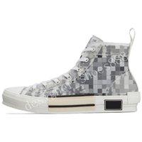 2021 Sapatos de lona Edição limitada Impresso Sneakers Versátil High Top com caixa de sapato de embalagem original Tamanho 35-45