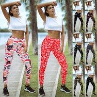 2020 yeni kadın noel baskılı karikatür tozluk kız sıkı sıska elastik tozluk spor noel pantolon spor yoga pantolon pantolon 7263
