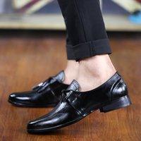 Top Alta Qualidade Men's Dress Shoes Moda Moda Luxurys Designers Black Brown Couro Vermelho Homens Esportes Flat Sneakers Trainers