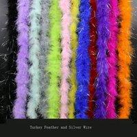 Общее качество Plume Природные Перья Boa Турция Strip Пушистый перо DIY Craft украшения Перья Свадебные украшения Plumes 2 Meter