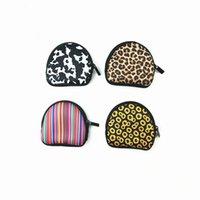 Neoprene À Prova D 'Água Moeda Zipada Bolsas Máscaras de Máscara Earbud Case Com Keyring Fone de Ouvido Bolsa Para Crianças 60 H1